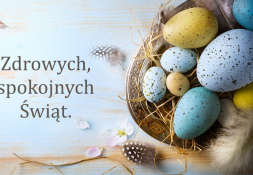 We hope to see you soon. Happy Easter :)